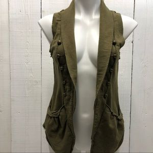 Love On A Hanger Cardigan Women Size S Green